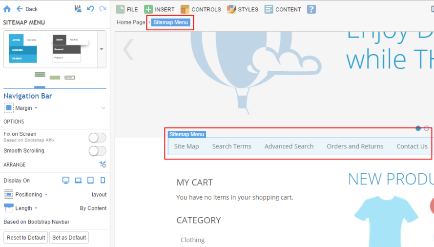 sitemap menu billionanswers