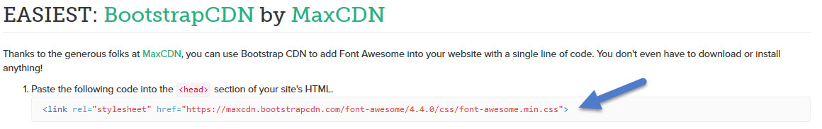 How to add Font Awesome fonts within my Joomla article