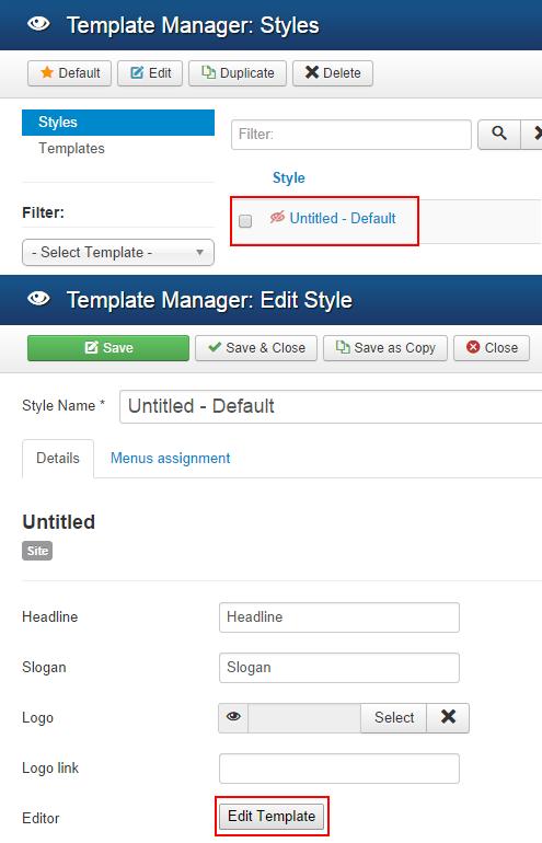 joomla administrator templates - how to use joomla template billionanswers